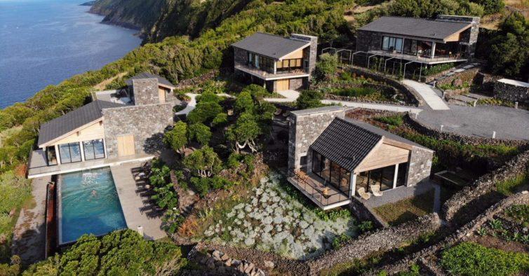 Дома Лавы - новый «рай на земле» - и находятся на Азорских островах